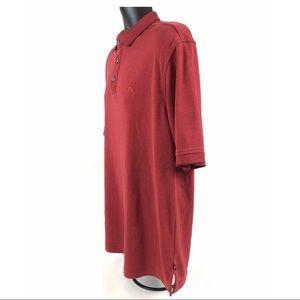 Tommy Bahama Shirts - Tommy Bahama Polo Shirt Red Fish Marlin Logo